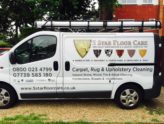 carpet cleaning van