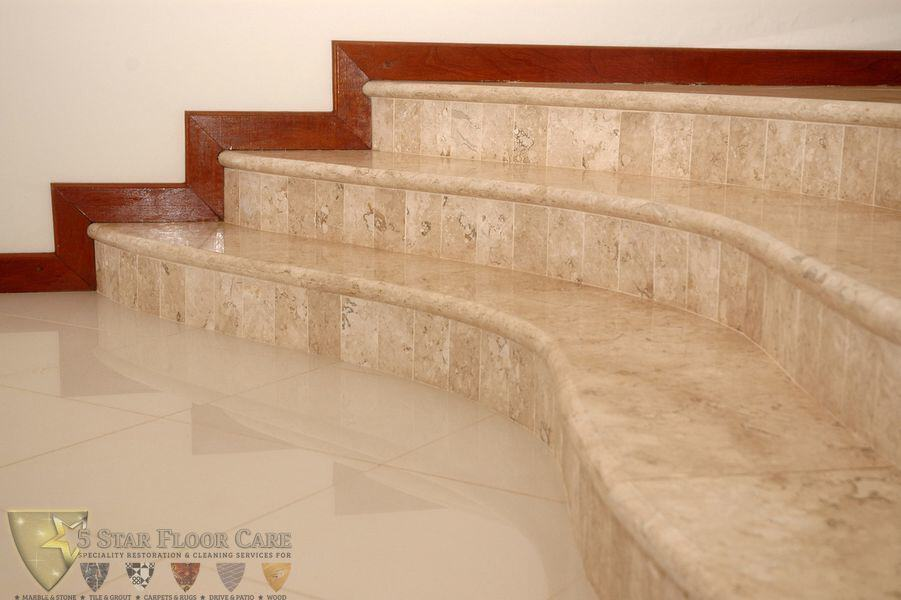 NATURAL STONE FLOOR CLEANING & RESTORATION