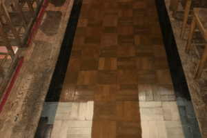Test Coat Of The Granwood Floor Sealer